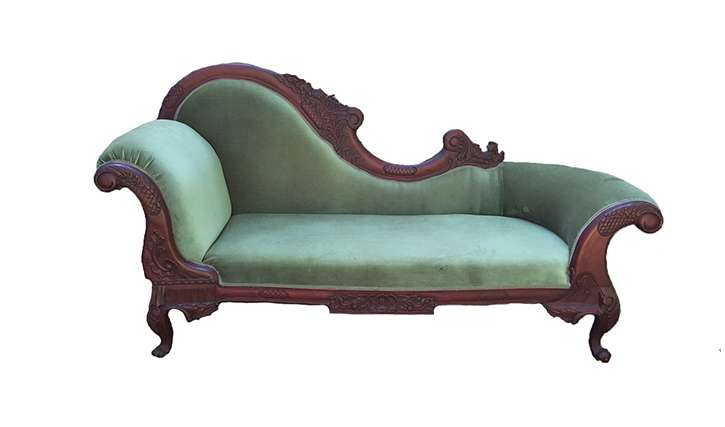 Olive Green Chaise